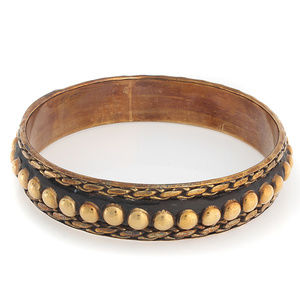"BAJALIA Brass Indali 6.75"" Bangle Bracelet"